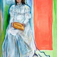 2013 oil on canvas 180 cm x130 cm